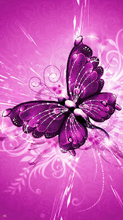 Beautiful butterfly mobile phone pictures