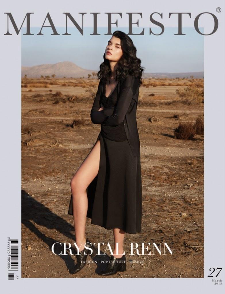 "Supermodel @ Crystal Renn - Manifesto ""Desert Empress"""