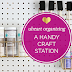 UHeart Organizing: A Handy Craft Station