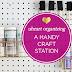 UHeart Organizing: A Handy Craft Station