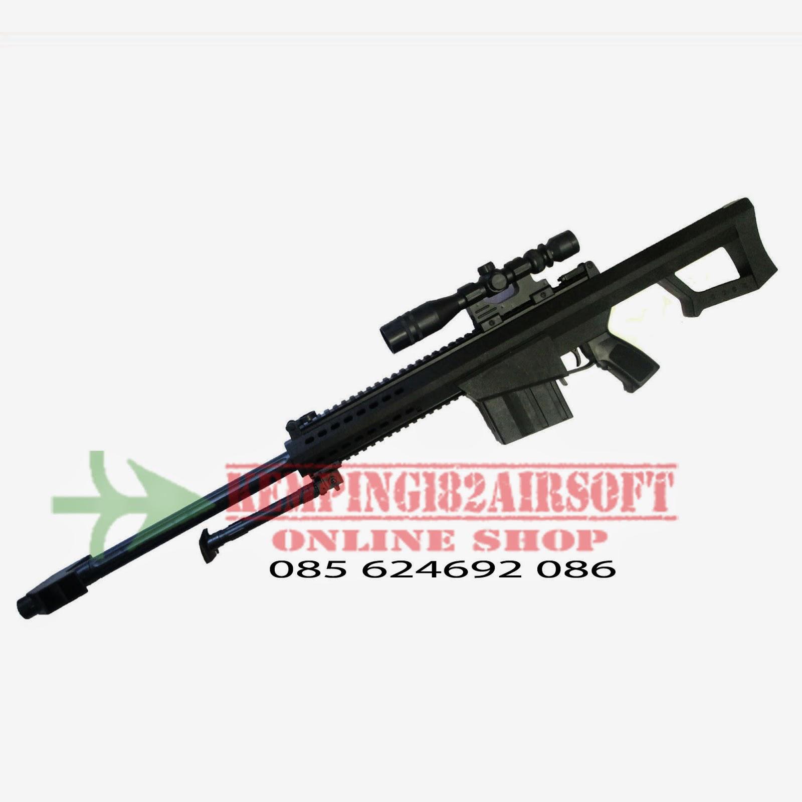 airsoft, spring, sniper, barret m82, sharpshooter
