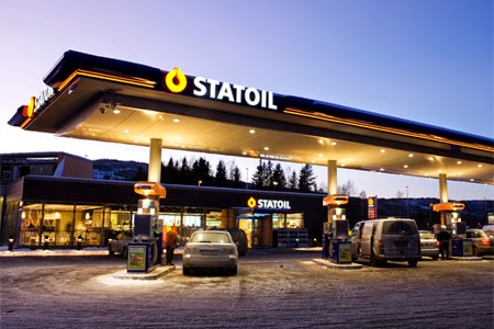 Image of StatOil station