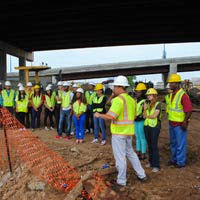 UA Engineering Students Visit Garver Offices