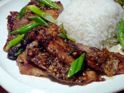 Honey Garlic Pork
