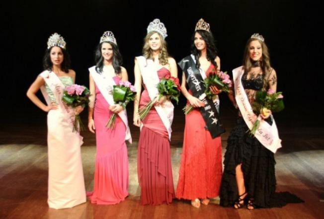 Miss Venus Española Internacional Spain 2012 winners Raquel Arias Miriam Ruiz Nieves Sanchez