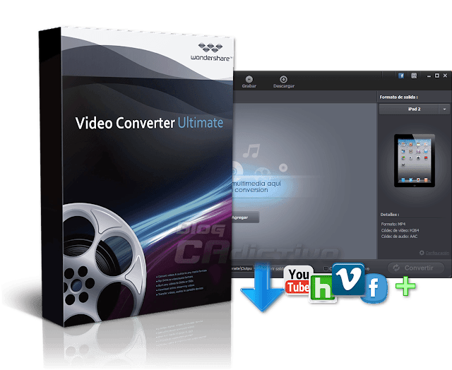 Wondershare Video Converter Ultimate v.7.2.0.3