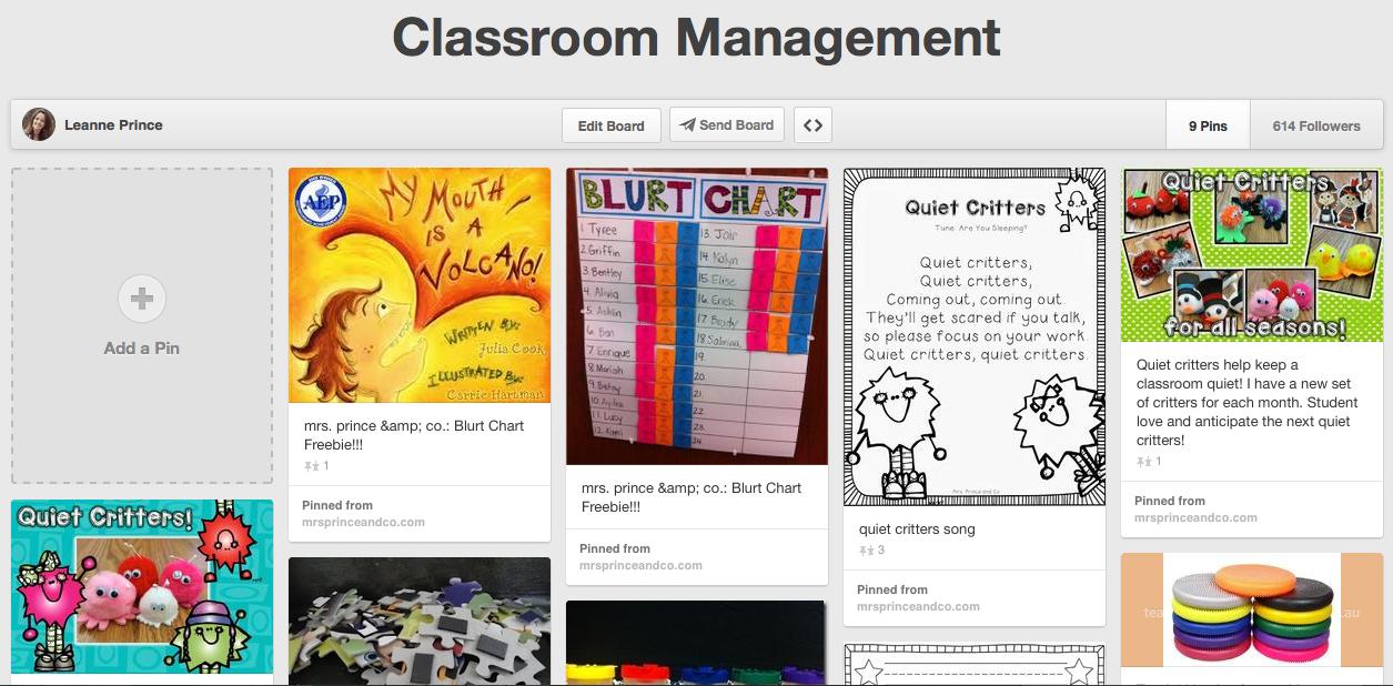 http://www.pinterest.com/leanneprince/classroom-management/