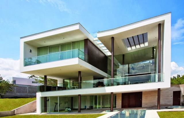 Fachadas de casas modernas casas sem telhado decor for Jazzghost casas modernas 9