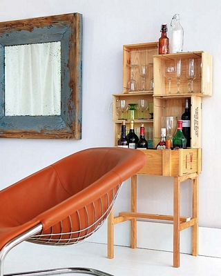 El mueble bar perfecto: ideas simples para decorar este espacio
