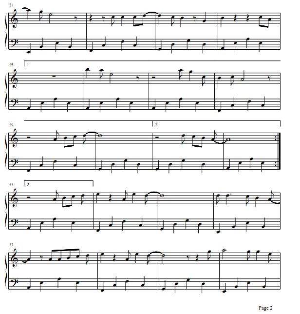 Harmonica Tabs - Nơi tình yêu bắt đầu