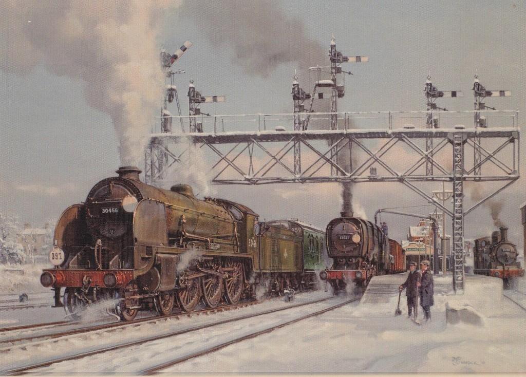 Steam Memories: Winter on the railway