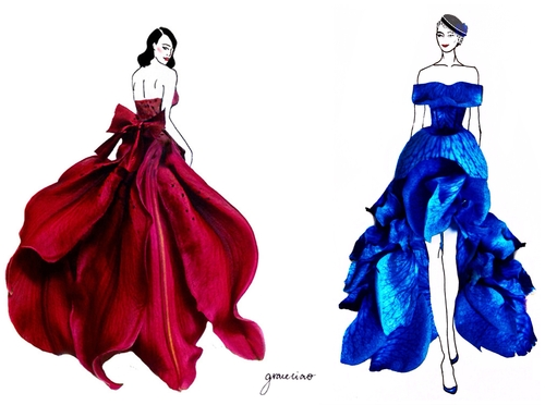 00-Nature-and-Grace-Ciao-Design-and-Draw-Dresses-with-Petals-www-designstack-co