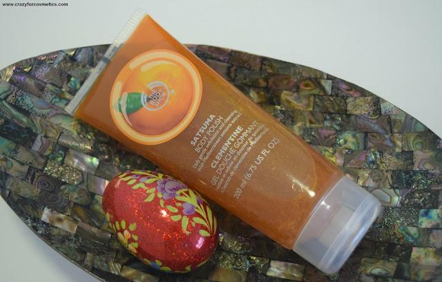 The Body Shop Satsuma range of products