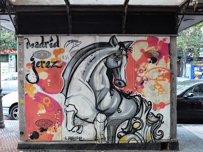 Madrid Jerez - Prancing Horse