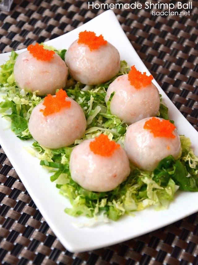 Homemade Shrimp Ball