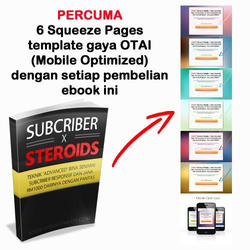 Subcriber X Streoids