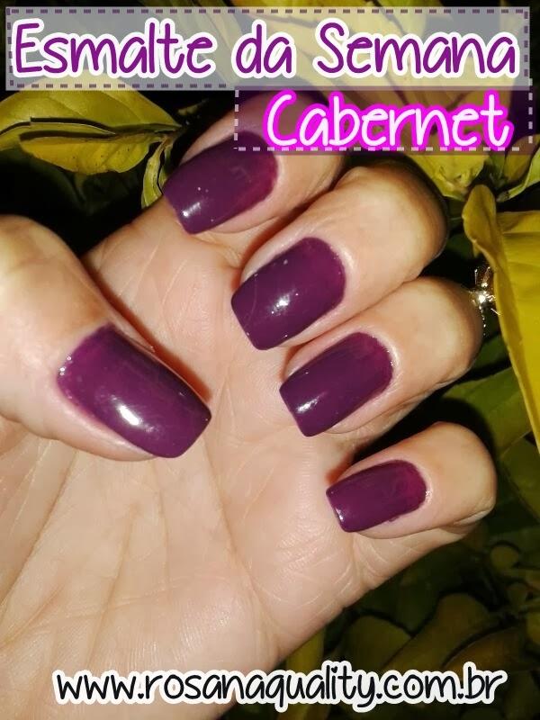 Esmalte Cabernet Beauty Color