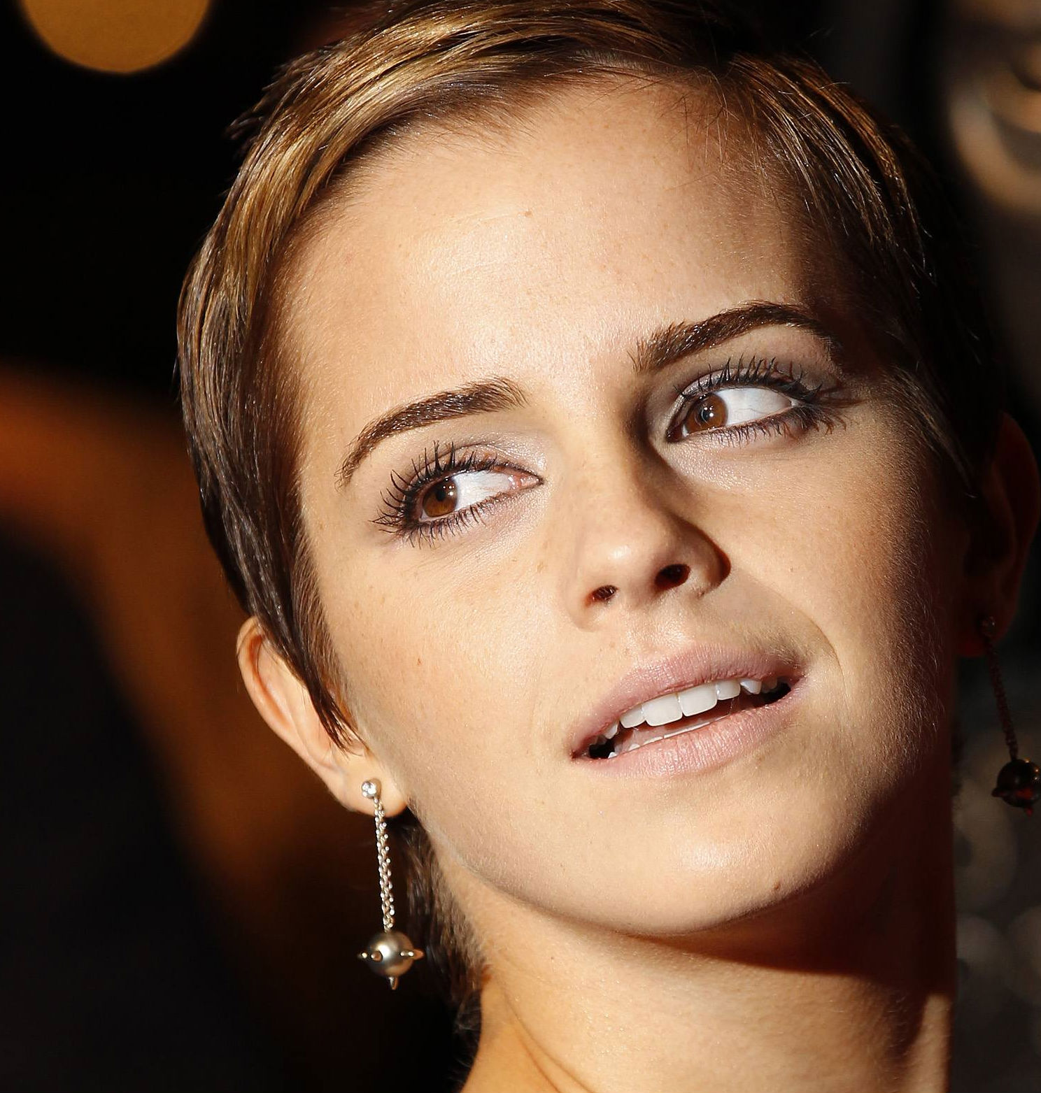 Emma Watson Short Hair 2011