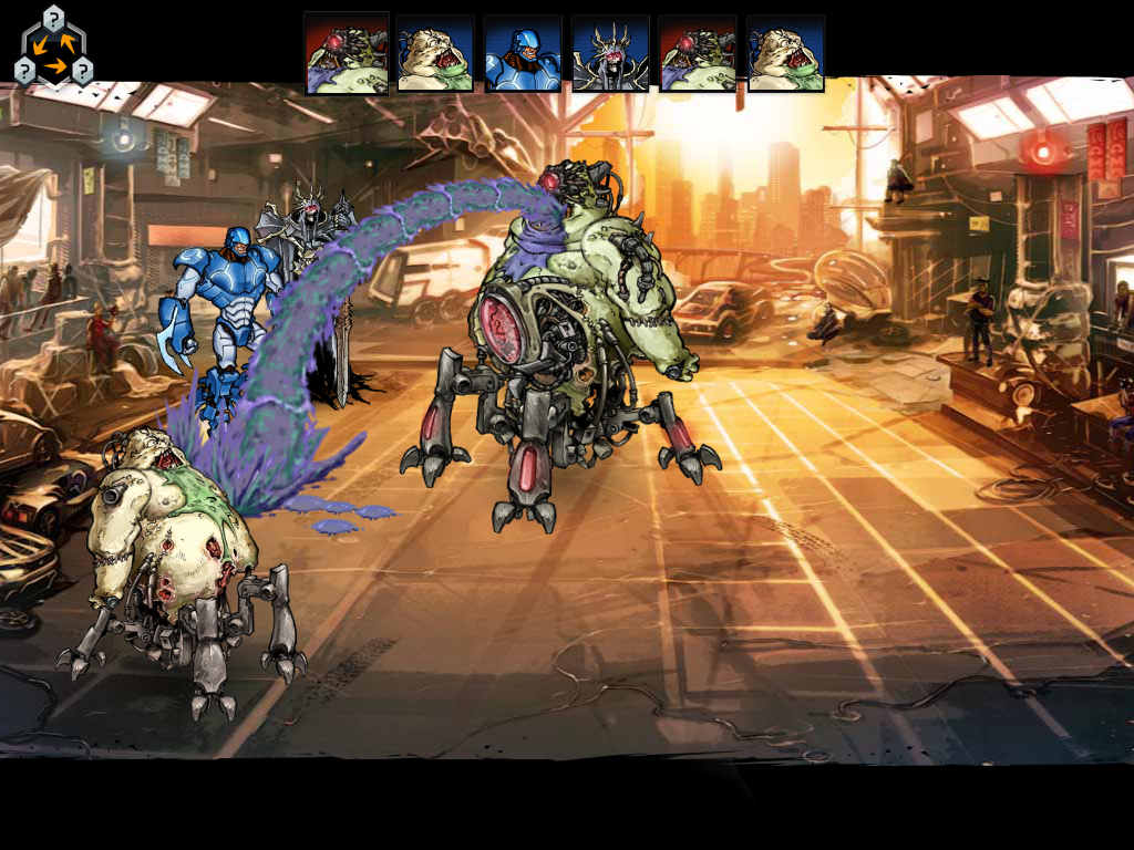 mutant genetic gladiators apk mod