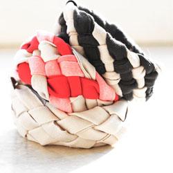 Old Shirts into Braided Bracelets