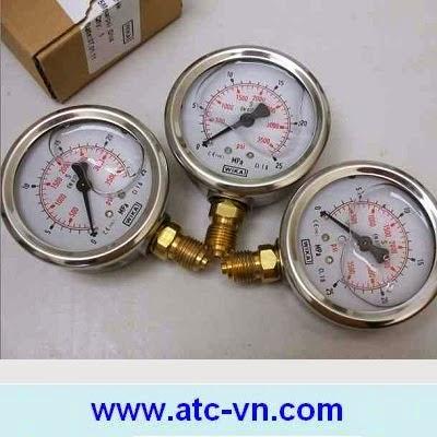 ATC bán các loại đồng hồ áp suất dầu Wika chất lượng cao