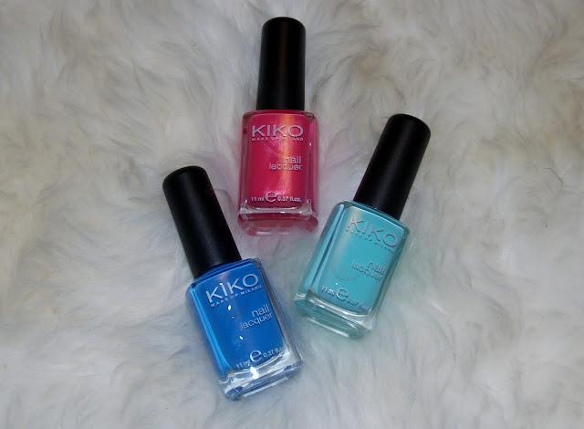 pintauñas kiko nueva temporada azul turquesa rosa fucsia verano
