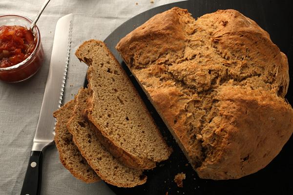 My Favorite Things: Easy Irish Brown Bread