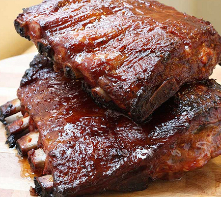 Video Recipes > Spare Ribs and Homemade Barbecue Sauce (Video Recipe )