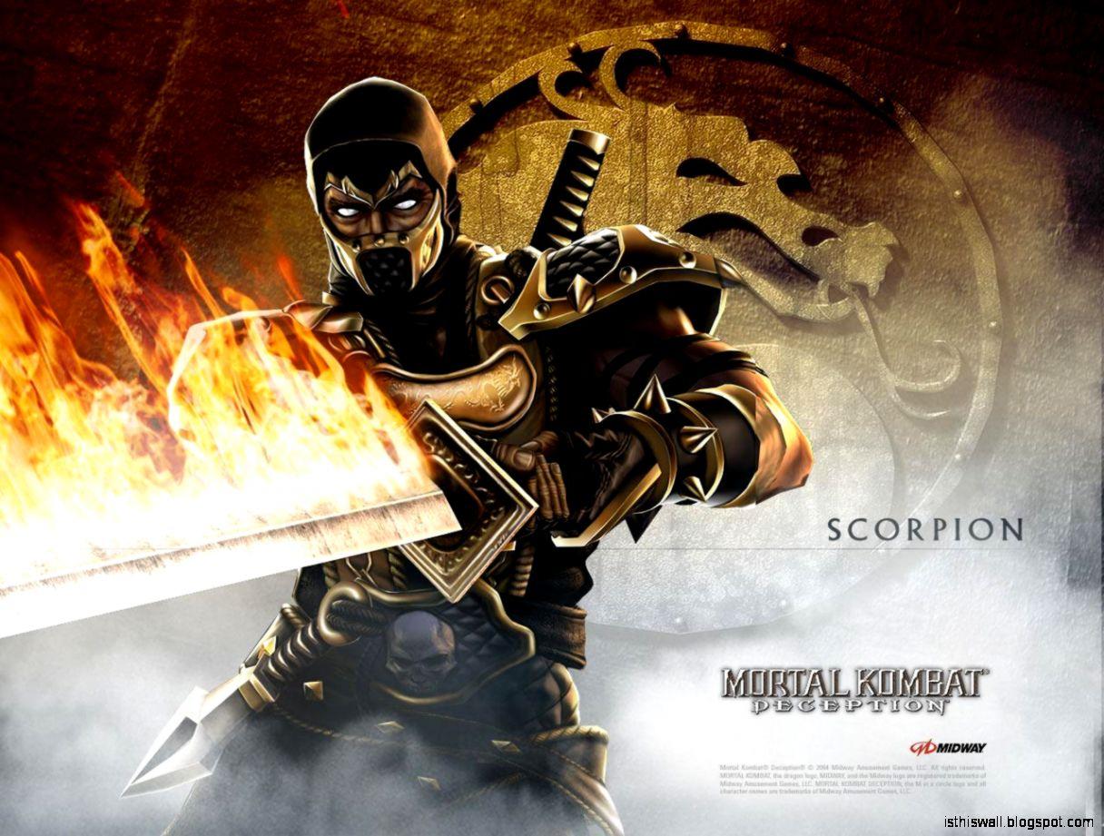 Scorpion   Mortal Kombat Wallpaper 9490568   Fanpop