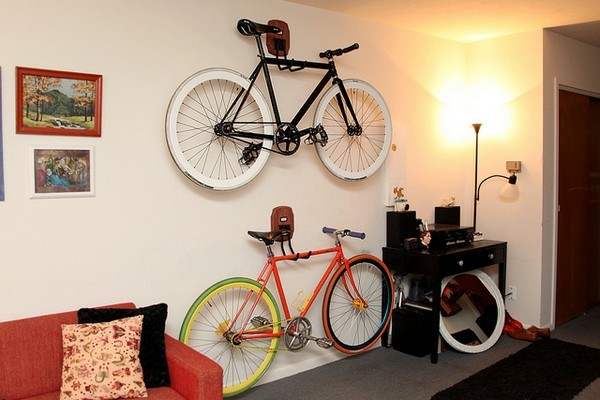 Wall Hanging Bike Storage Racks
