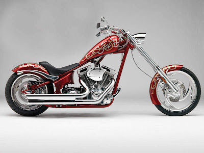 Modification Choppers Motorcycles Big Dog Airbrush