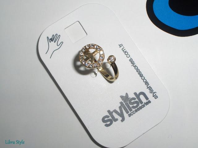 Stylish Accessorize barış yüzük bileklik peace bracelet, peace ring