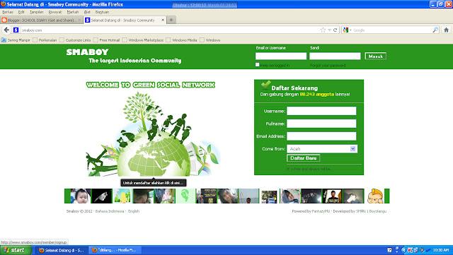SMABOY - Situs Jejaring Sosial karya anak Indonesia