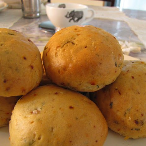 Its been ages I did baking and so today I decided to bake something simple and special whi Savory Buns For A Snack
