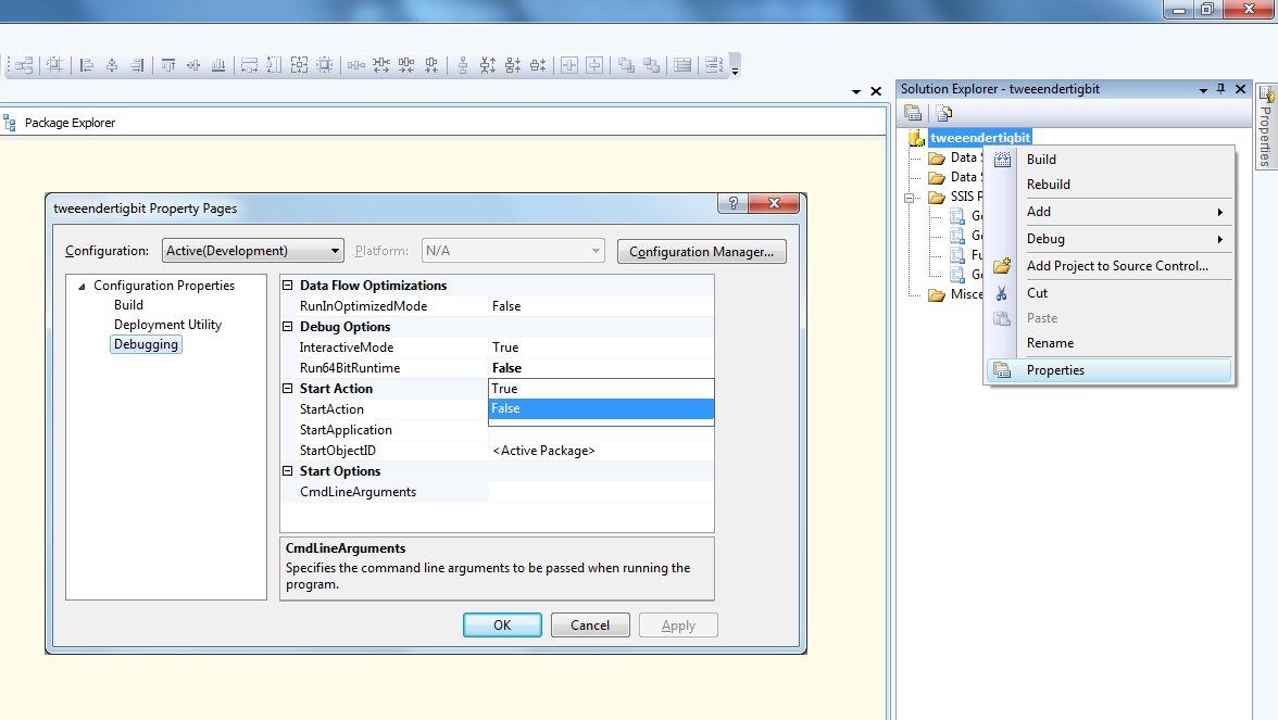 Image result for ssis 32 bit mode