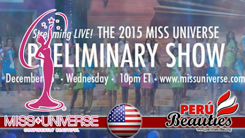 2015 Miss Universe Preliminary Show Live!!