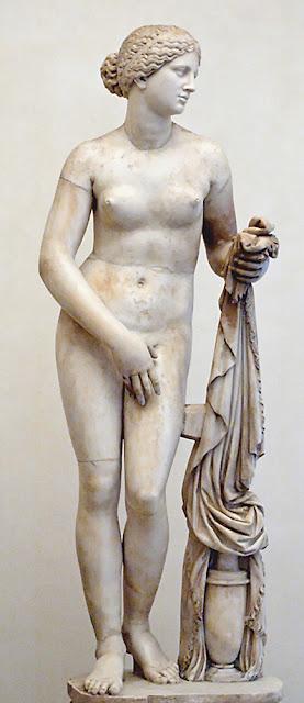 Venus de Cnido de Praxiteles