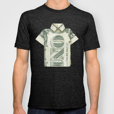 One dollar shirt t-shirt