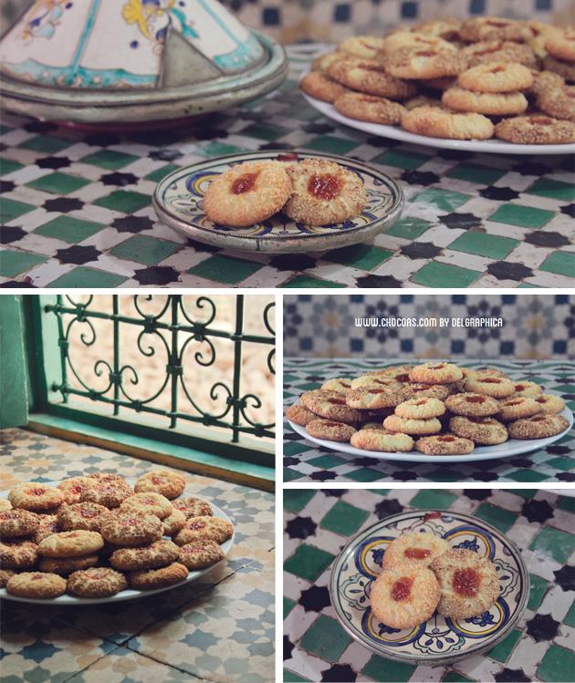 Oriva - galletas de té árabe - taller de cocina Marrakech