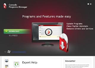 Comodo Programs Manager