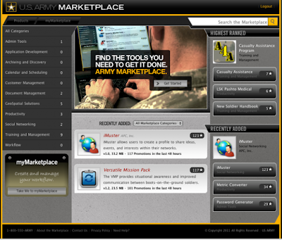 U.S. army marketplace