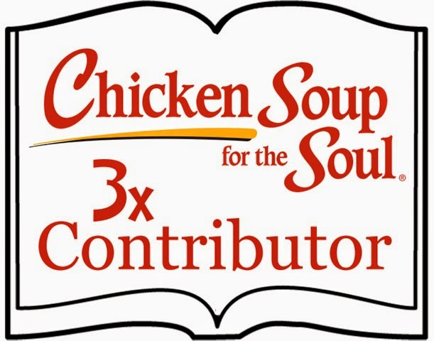 Chicken Soup for the Soul Contributor three times over!