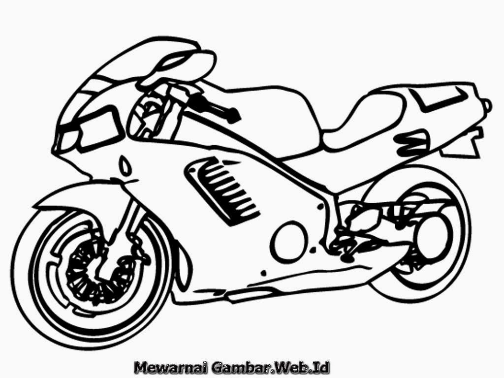 100 Gambar Motor Ninja Pakai Pensil Terbaru Obeng Motor