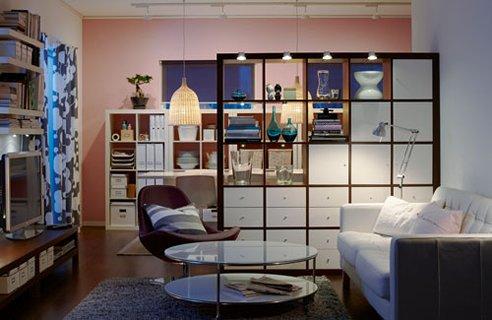 Separar ambientes ikea amazing fuente pinterest with for Separadores de espacios ikea