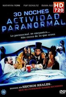 Ver Película 30 Noches De Actividad Paranormal  Online Gratis (2013)
