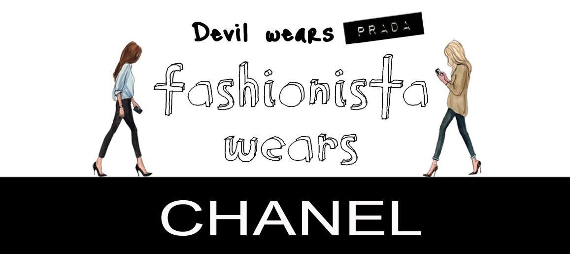 fashionista wears CHANEL