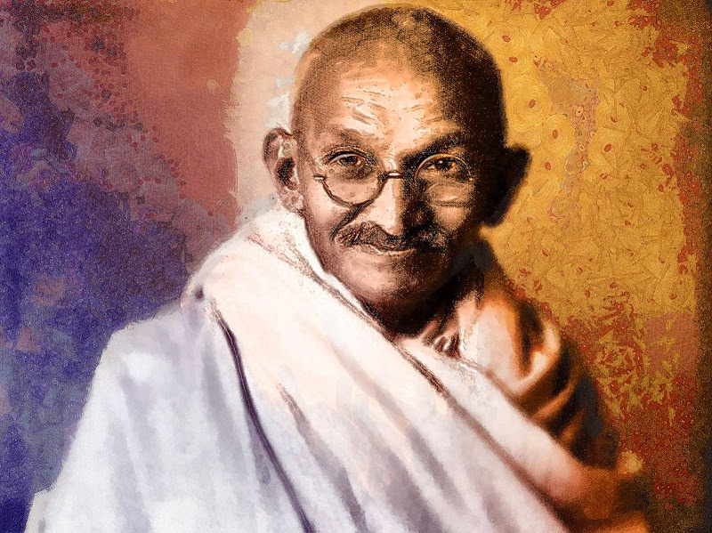 very short essay on mahatma gandhi for kids