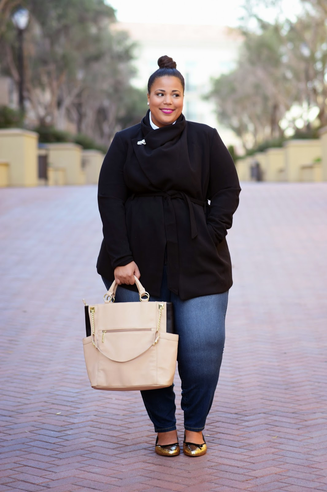 Plus Size Olivia Pope Coat