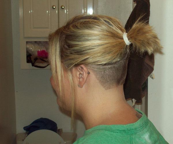 crazy hair styles undercut hairstyle