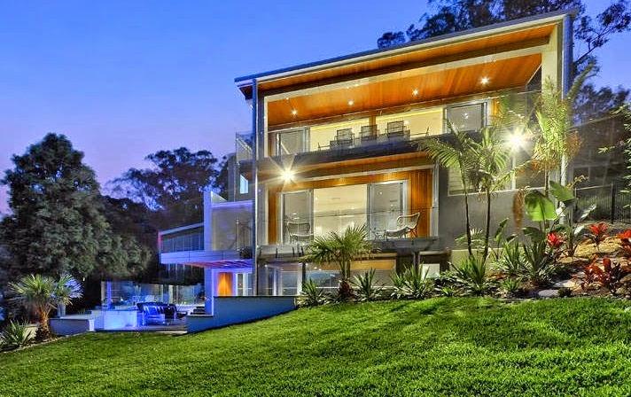 Casa de lujo en el r o brisbane queensland australia for Casas contemporaneas de lujo